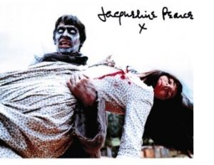 Jacqueline Pearce from Hammer Horror 10 X 8 genuine signed autograph